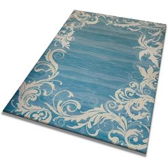 resital the voice of carpet loper »canan 311«, resital the voice of carpet, rechthoekig, hoogte 15 mm, machinaal geweven blauw