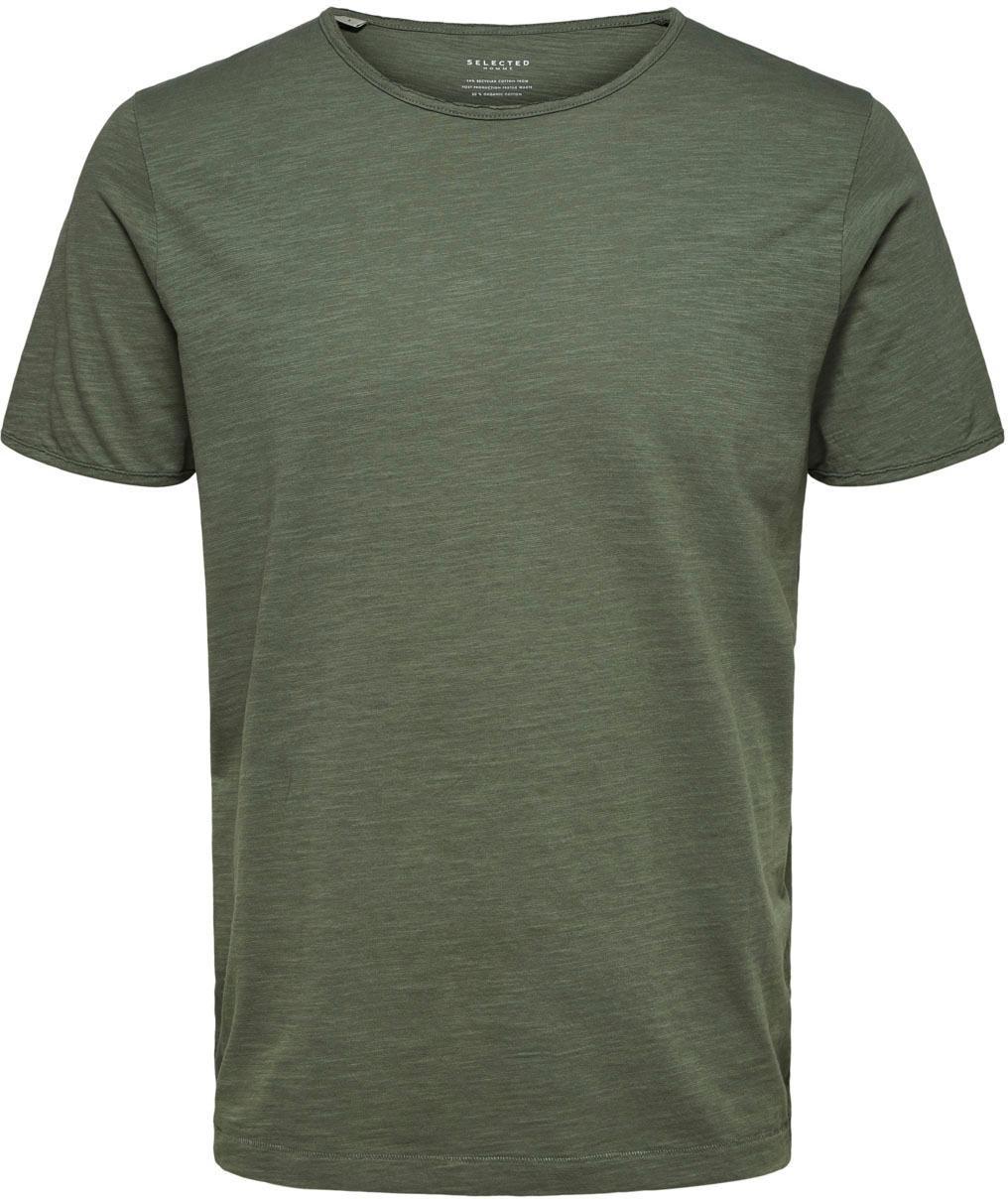 Selected Homme T-shirt »MORGAN O-NECK TEE« voordelig en veilig online kopen