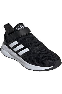 adidas performance runningschoenen »run falcon c« zwart