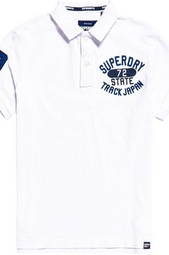 superdry poloshirt wit