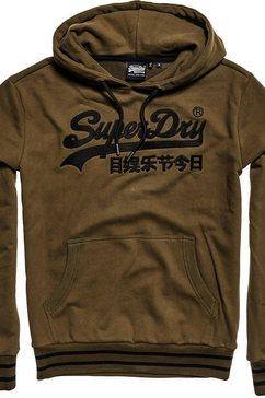 superdry hoodie grün