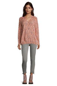 cartoon casual blouse met stippen roze