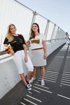 via appia due t-shirt »em 2020 fanshirt« zwart