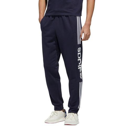 adidas Essentials joggingbroek blauw heren Heren