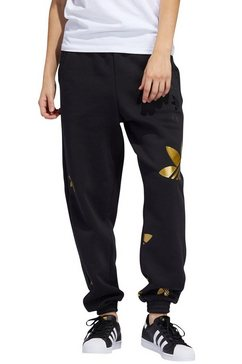 adidas originals joggingbroek »large logo pant« zwart