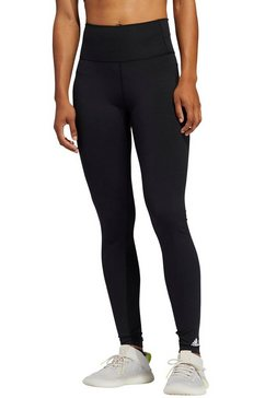 adidas performance functionele tights »pukse long high rise tight« zwart