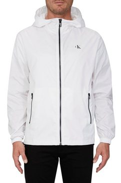 calvin klein windbreaker »zip through hd jacket« wit