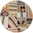paco home vloerkleed artigo 406 geschikt voor binnen en buiten, vintage-design, woonkamer multicolor