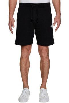 calvin klein sweatshort »ck essential hwk short« zwart