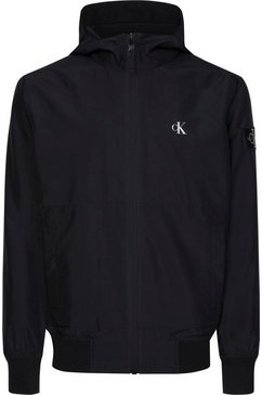 calvin klein blouson »hooded blocking nylon jacket« zwart