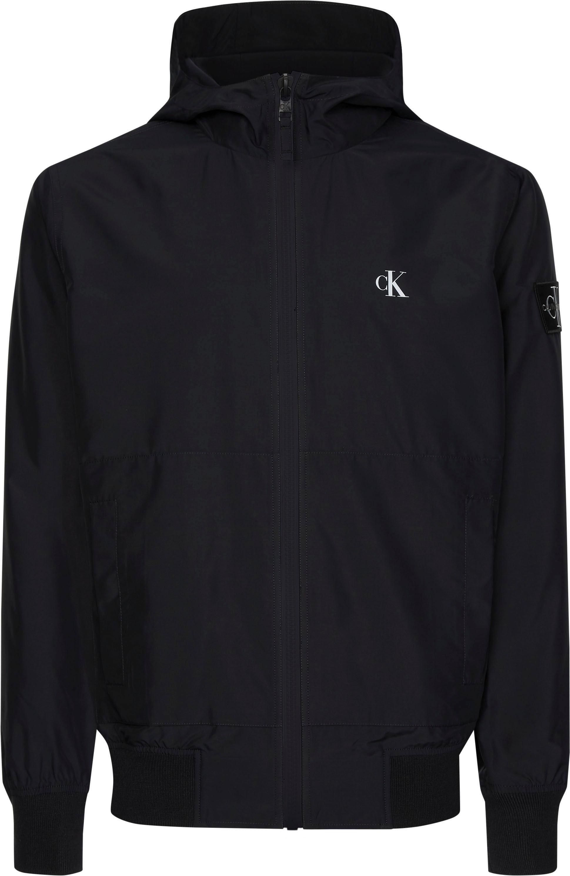 Calvin Klein blouson »HOODED BLOCKING NYLON JACKET« goedkoop op otto.nl kopen