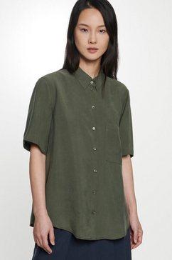 seidensticker overhemdblouse »schwarze rose« groen