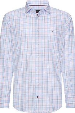 tommy hilfiger tailored overhemd met lange mouwen blauw