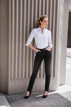 seidensticker schwarze rose klassieke blouse wit