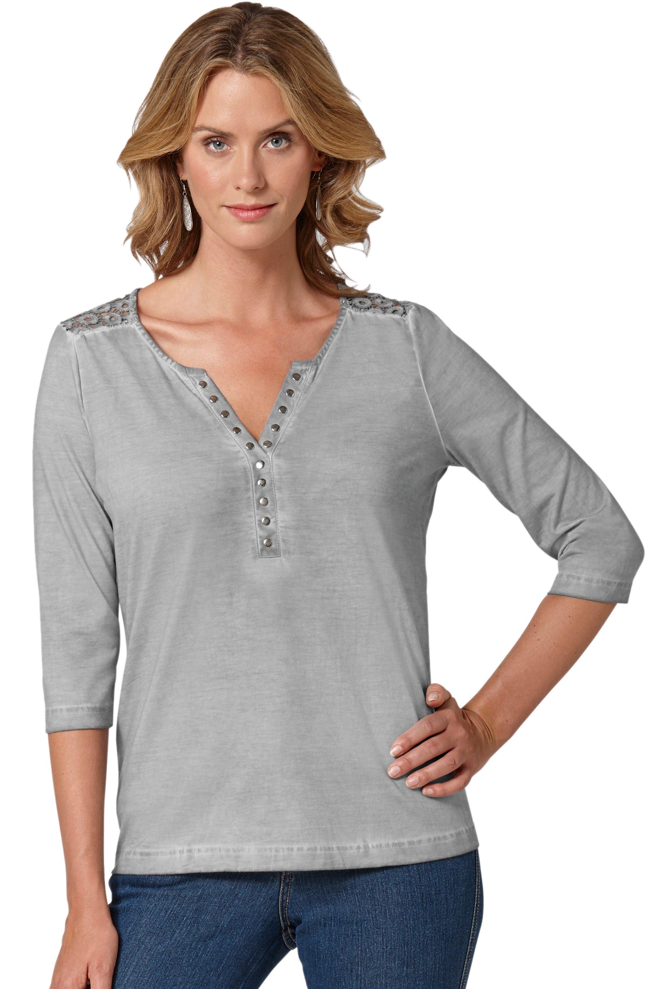 Op zoek naar een Ambria shirt in expressieve oil-dyed-kleuring? Koop online bij OTTO