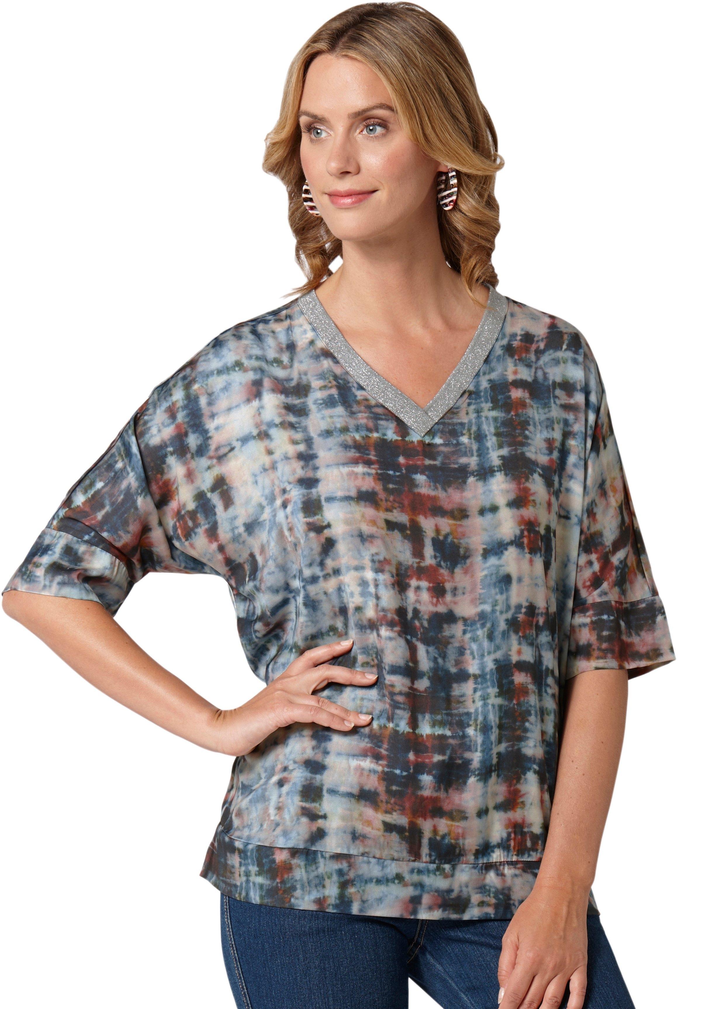 Ambria blouse in trendy oversized model - verschillende betaalmethodes