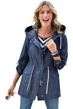 ambria jas in coole denim-look blauw
