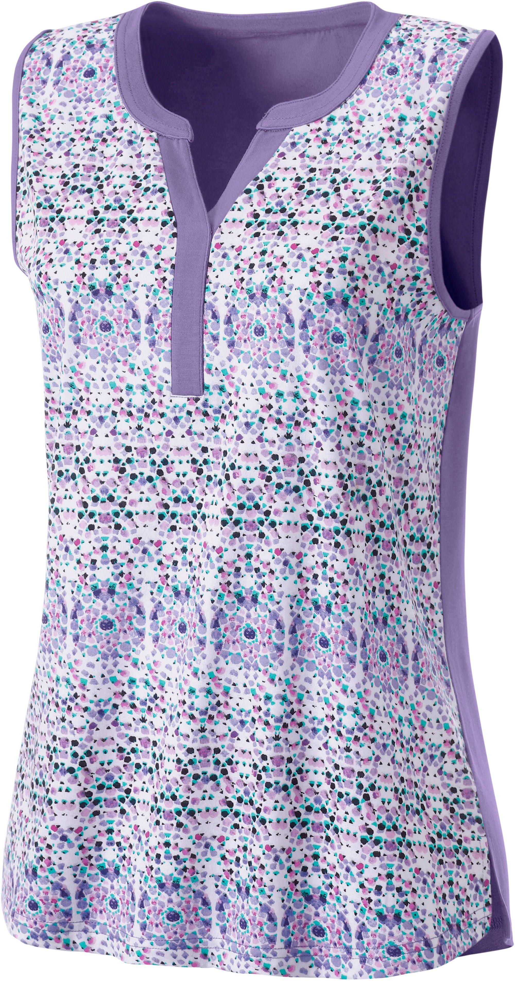 Classic Basics Shirttop In Zachte Katoen-modalmix Makkelijk Besteld - Geweldige Prijs
