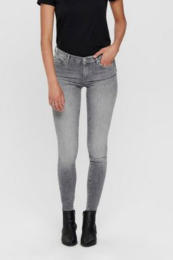 only skinny fit jeans »onlshape« grijs