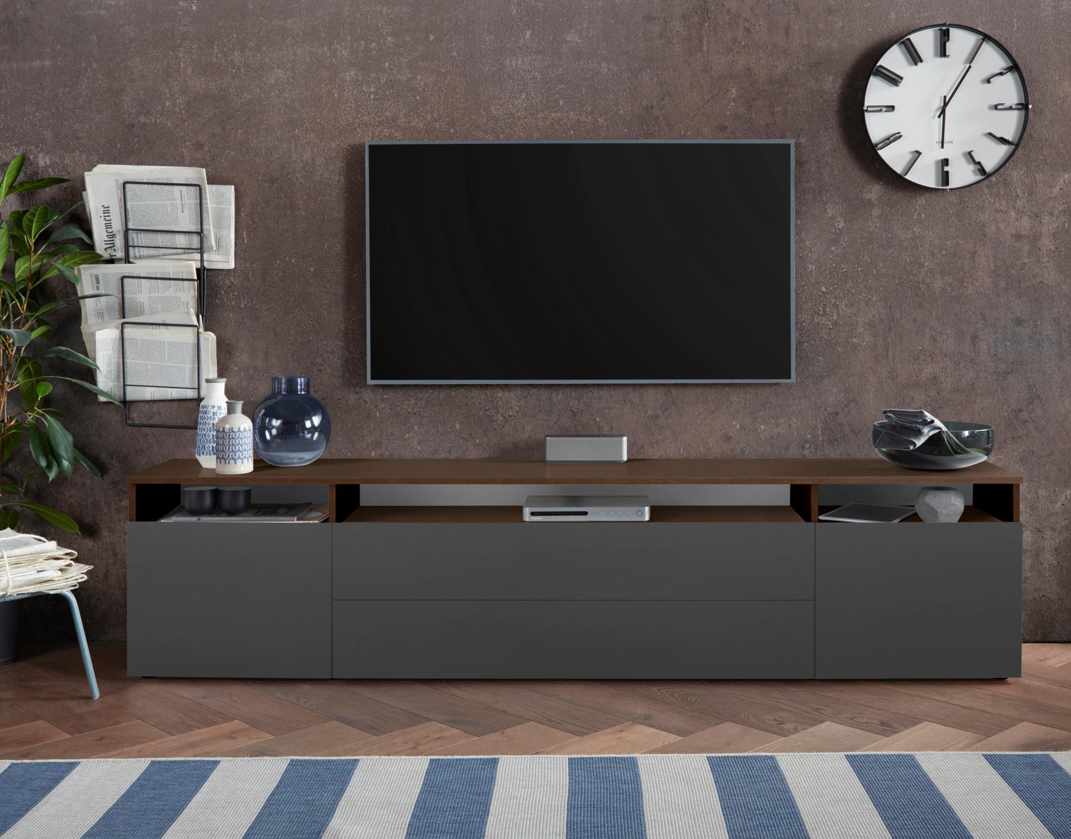 borchardt Möbel tv-meubel Melbourne , breedte 200 cm online kopen op otto.nl