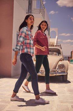 ltb geruite blouse »lucinda« blauw