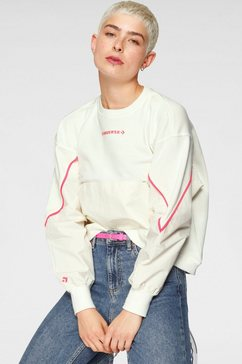 converse sweatshirt material crew wit