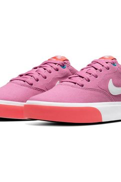 nike sb sneakers »wmns charge canvas skate« roze