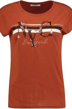 haily's t-shirt »amelia« bruin