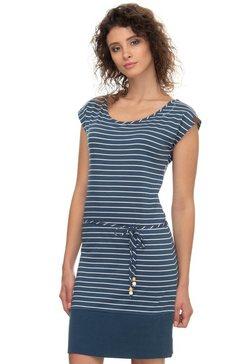 ragwear shirtjurk »soho stripes« blauw