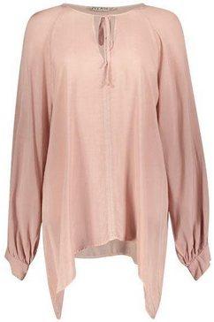 please jeans shirtblouse »pcoc« roze