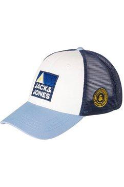 jack  jones junior baseballcap blauw