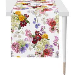 apelt tafelloper 7183 summer garden digitale print (1 stuk) multicolor