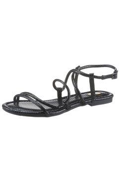 buffalo sandalen zwart