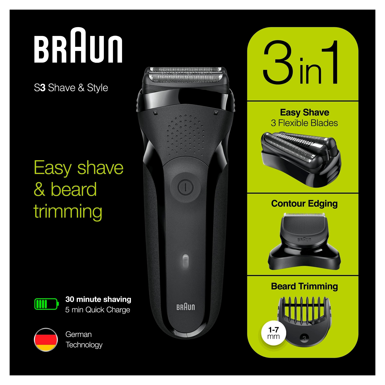 Braun »Series 3 Shave&Style 300BT« elektrisch scheerapparaat bij OTTO online kopen