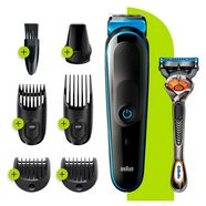 braun »7-in-1 multi-grooming-kit 3 mgk3245« multifunctionele trimmer zwart