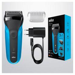braun »series 3 shavestyle 310bt« elektrisch scheerapparaat zwart