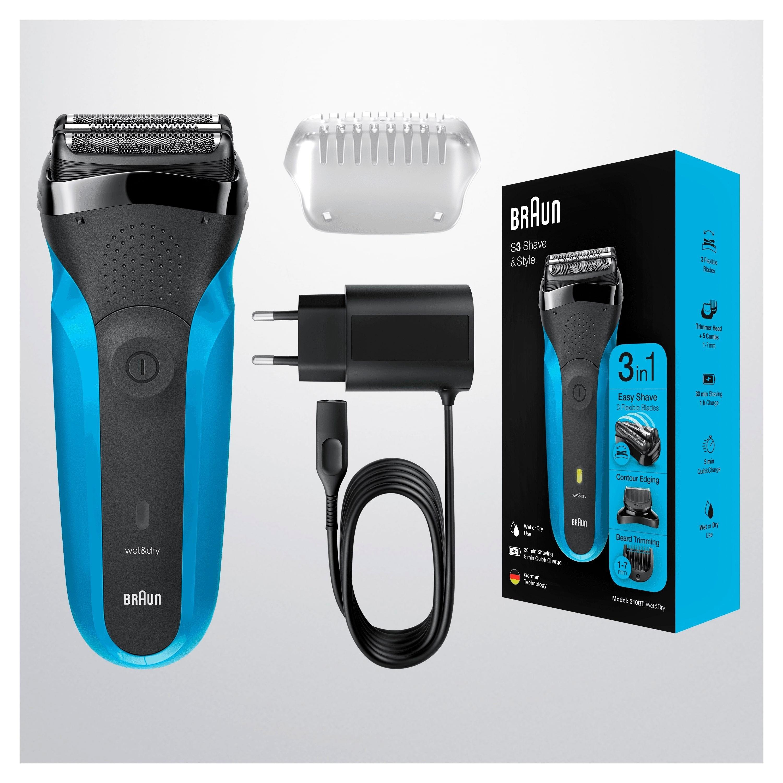 Braun »Series 3 Shave&Style 310BT« elektrisch scheerapparaat voordelig en veilig online kopen