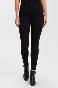 cross jeans high-waist jeans »judy« zwart