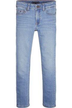 tommy hilfiger 5-pocket jeans blauw