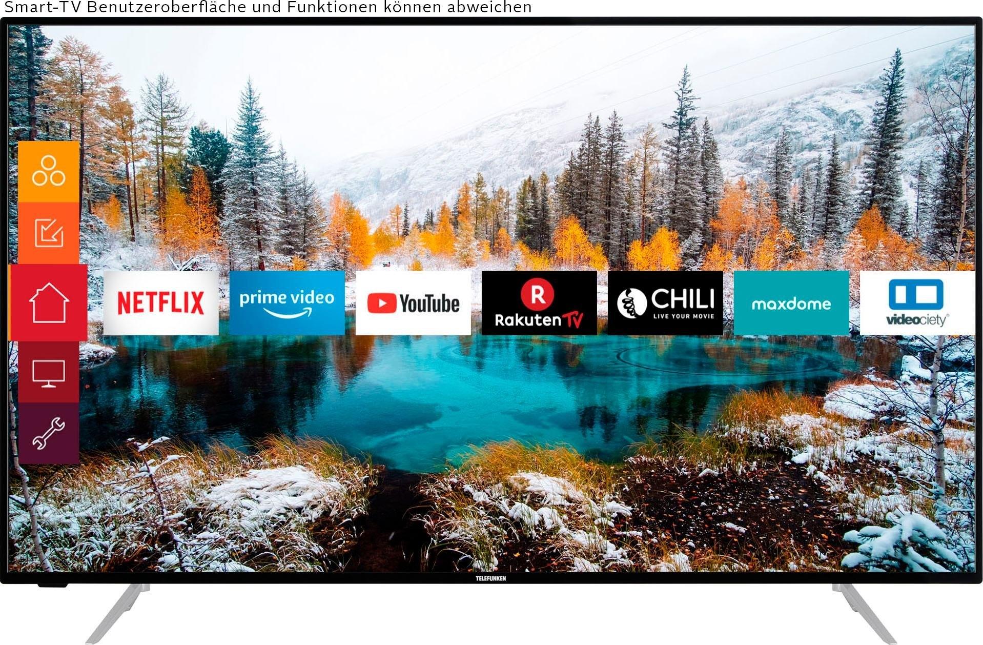 Telefunken »D55V800M4CWH« LCD-LED-TV - verschillende betaalmethodes