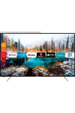 telefunken »d50v800m4cwh« led-tv zwart