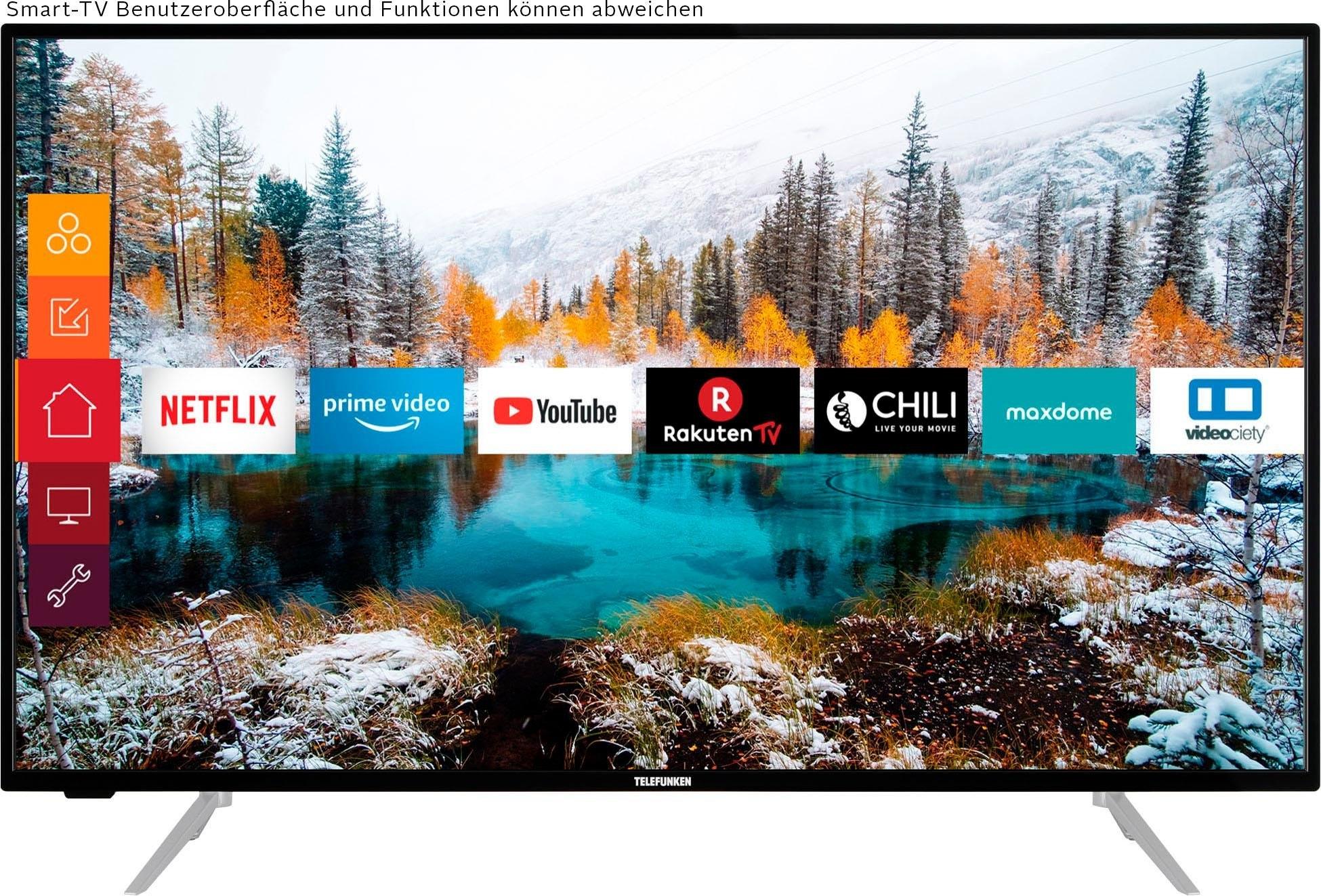 Telefunken »D43V800M4CWH« LED-TV voordelig en veilig online kopen