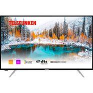 telefunken »d43v800m4cwh« led-tv zwart