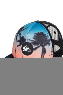 quiksilver trucker-cap »psychic patterns« blauw