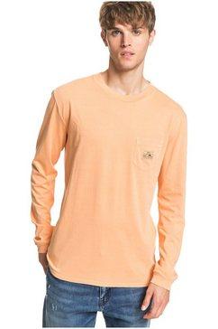 quiksilver shirt met lange mouwen »sub mission« oranje