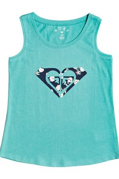 roxy tanktop »there is life« groen