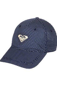 roxy baseballcap »around water« blauw