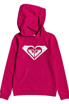roxy hoodie »calm vibes« roze