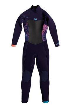 roxy lange wetsuit »3-2mm syncro series« blauw
