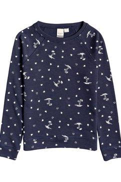 roxy sweatshirt »different way« blauw